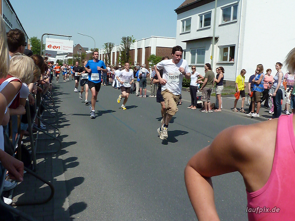 Paderborner Osterlauf 10km Ziel 2011 Foto (485)