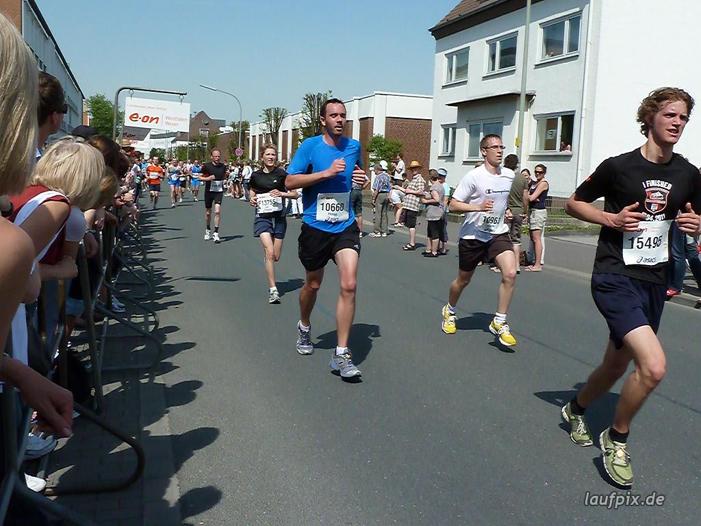 Paderborner Osterlauf 10km Ziel 2011 - 491