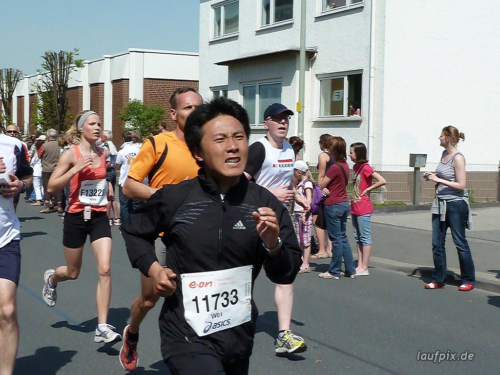 Paderborner Osterlauf 10km Ziel 2011 - 706