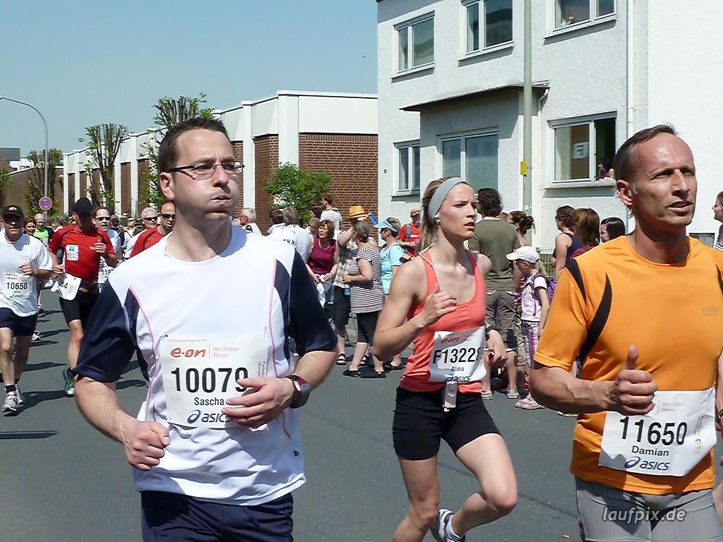 Paderborner Osterlauf 10km Ziel 2011 - 709
