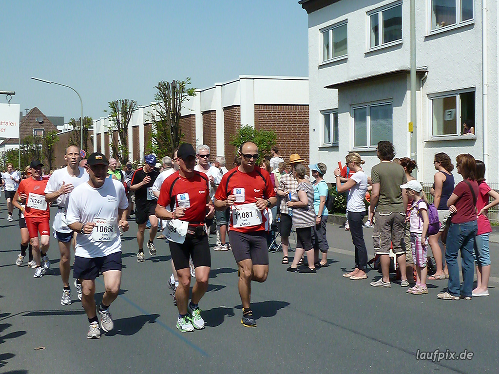 Paderborner Osterlauf 10km Ziel 2011 - 714
