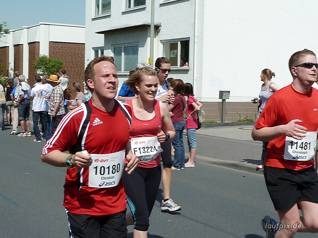 Paderborner Osterlauf 10km Ziel 2011 - 721