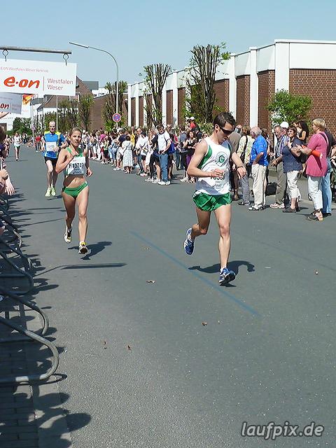 Paderborner Osterlauf 10km Ziel 2011 - 100