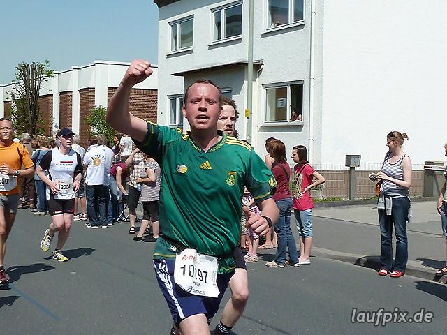 Paderborner Osterlauf 10km Ziel 2011 - 700