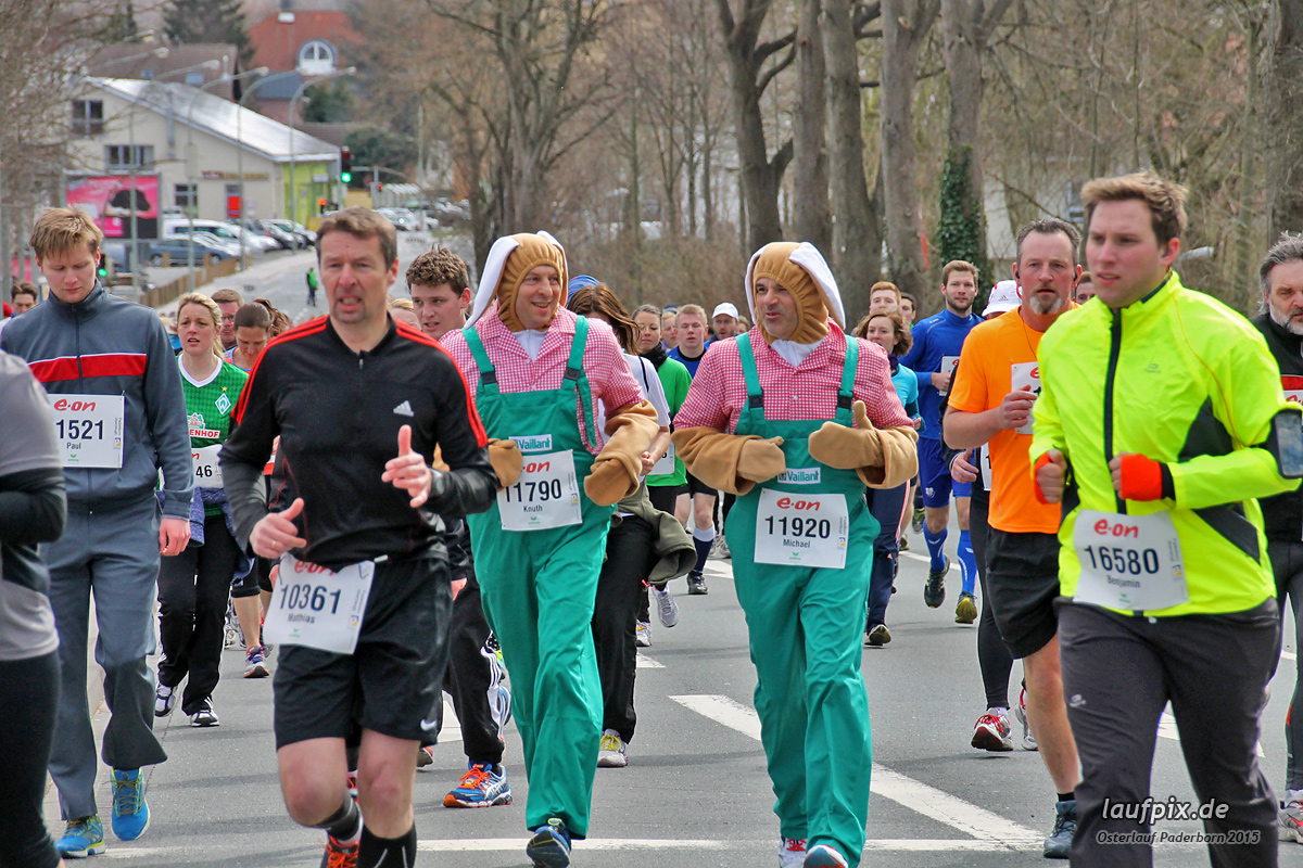 Paderborner Osterlauf - 10km  2015 Foto (499)